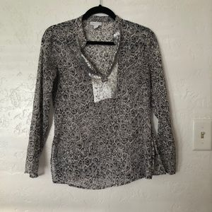 Charter Club, size 6P long sleeve blouse